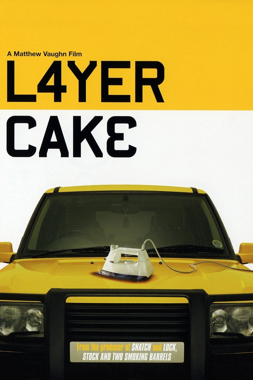 Yellow Range Rover Layer Cake