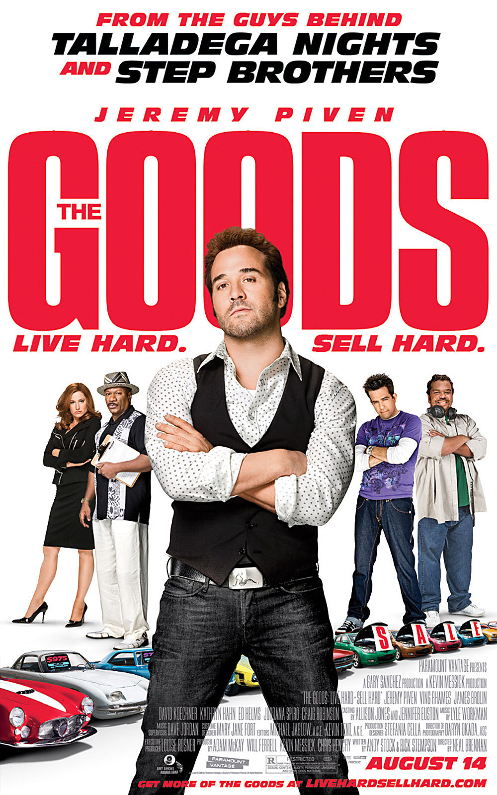 The Goods Live Hard Sell Hard Poster