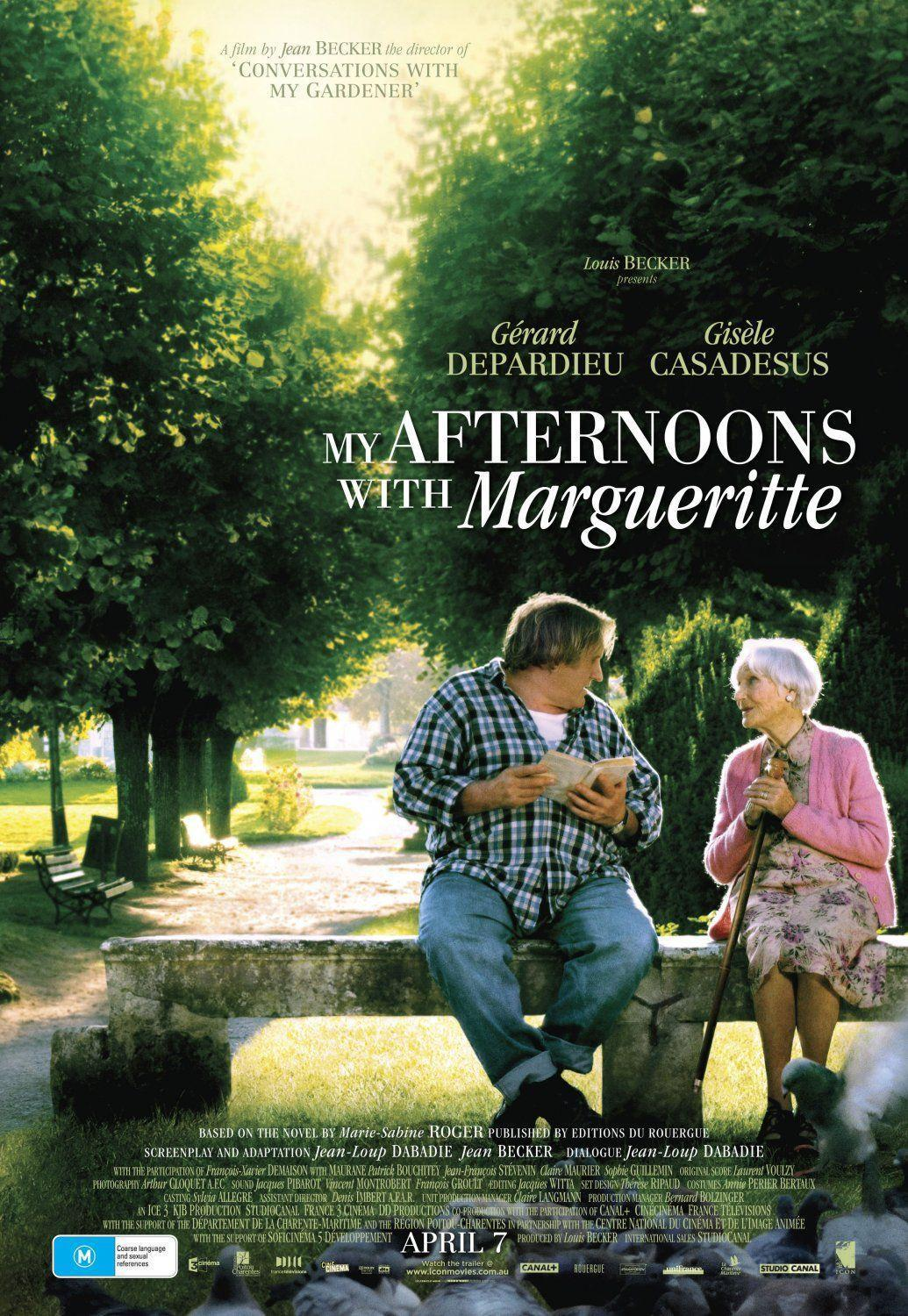 my afternoons with marguerite - 552×800
