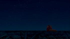 — Папа, папа, послушай, а правда мы с тобой друзья? — Да, сын, конечно. — И мы всегда будем вместе? — Послушай, что однажды сказал мне мой отец: «Посмотри на звезды. Великие короли прошлого там смотрят на нас с этих звезд. И если тебе будет очень одиноко — помни, они всегда будут там, чтобы указать тебе путь. И я тоже буду с ними».