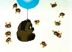 Я тучка, тучка, тучка, Я вовсе не медведь. Ах, как приятно тучке По небу лететь!