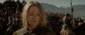 Я знаю, что слишком поздно отступать. Знаю, что надежды осталось мало. Если бы я был рыцарем Рохана, способным на великие дела! Но я не такой. Я всего лишь хоббит. Я знаю, что не смогу спасти Средиземье. Я просто хочу помочь своим друзьям. Фродо. Сэму. Пиппину. Больше всего на свете я хотел бы снова увидеть их.