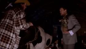 - Кузьмич зовёт заниматься любовью с коровами... - Нельзя отказывать Кузьмичу.