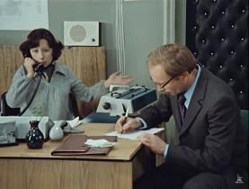 — Ты знаешь, я понял, из-за чего мы с тобой разошлись: нам нужен ребёнок! — Ты хочешь, чтоб у нас был ребёнок? — Да! И как можно скорее! — Но я не могу сейчас. До конца работы ещё два часа и Калугина тут… Я не могу уйти!