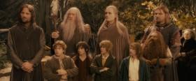 - Девять хранителей... Да будет так! Отныне вы будете Братством Кольца! - Отлично! Так куда мы идём?