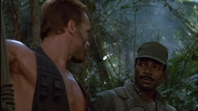 - Ты веришь, что эта бойскаутская чушь спасёт нас?  - Он видит наши мины, может, не увидит это. Чем сомневаться, лучше бы помог.