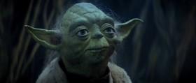 Размер не имеет значения. Посмотри на меня. По размеру меня судишь, так? Гмм? Гмм. А не должен ты. Ибо мой союзник - Сила, и могущественный союзник она.