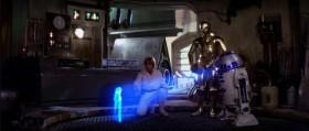 Помогите мне, Оби-Ван Кеноби. Вы моя единственная надежда...