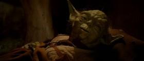 Помни, вся мощь Джедая идет от его Силы. Но осторожно. Агрессия, гнев, страх - тёмная сторона силы это. Раз вступишься на темную тропу - навсегда она твою судьбу определит. Люк... Люк... Нельзя, нельзя недооценивать силы Императора. Или разделишь отца своего судьбу. Люк, когда умру я - последним Джедаем будешь. Люк, Сила мощно течёт в вашей семье, передай то, чему обучился... Люк... есть ещё один... а... Скай...уокер...
