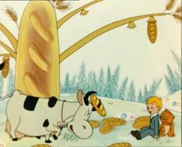 — Корова, ты же должна есть траву! — Фигушки, я плотоядная!