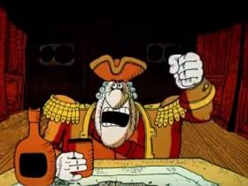 — Да, капитан, вы были правы. Признаю себя ослом и жду ваших распоряжений. — Я такой же осёл, как и вы, сэр!