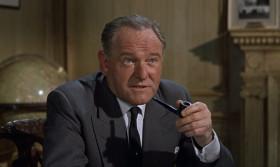 """С тех пор, как я возглавляю МИ-6, смертность агентов 00 снизилась на сорок процентов. Хотелось бы, чтобы так было и дальше. Ты будешь носить """"Вальтер"""". Если, конечно, ты не хочешь вернуться к прежней стандартной работе."""