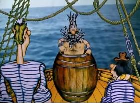 - Кто впервые пересекает экватор - я или вы? - Мы, капитан. - Вот вы и должны были купаться в этой бочке. Регата регатой, а морские традиции забывать нельзя!