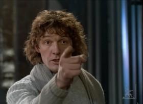 Да вы что? Вы уже год как свободные люди! Вы же свободные люди! Встать! Вы рабы! Вы...Вы не люди, вы бараны, стадо скотов!  Да поймите же, он здесь! Я сейчас заставлю каждого это понять и убить Дракона в себе! В СЕБЕ, вы это понимаете?
