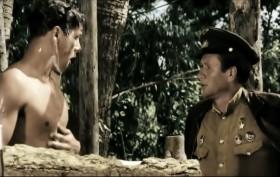 — А по шее не хочешь? Ой! Извините, товарищ капитан!  — Гвардии капитан.  — Так точно, гвардии товарищ капитан!