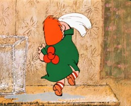 """У меня знаешь какая бабушка! Она как меня увидит, сразу орет на всю деревню: """"Карлсооооончик, дорогооооой!"""" А потом как налетит, как обнимет! Моя бабушка - она чемпион мира по обниманиям!"""