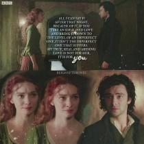 — Я не отрицаю, что любил её. Задолго до нашей встречи она была моей первой, идеальной, недостижимой любовью.  — Поскольку я тупая, неидеальная простушка. — Не простушка, но да — неидеальная. Человечная. Настоящая. И та ночь с Элизабет показала мне, и видит Бог, можно было и по-другому осознать, но моя гордыня и глупость не позволяла. Могу сказать одно: после той ночи, из-за неё, я понял, что если взять идеальную любовь и с низвести до неидеальной, то неидеальная окажется лучше. Моя истинная, настоящая и неослабевающая любовь — не она. Это ты.