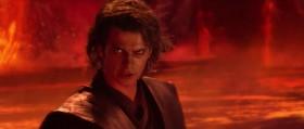 - Всё кончено, Энакин! Я стою выше тебя! - Ты недооцениваешь мою мощь!