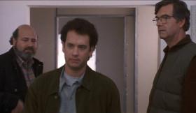 <b>Джэй:</b> - Это судьба... Она не замужем, мы не хотим переделывать кухонную стенку, а тебе нужна новая жена. Как это называется, когда всё пересекается? <b>Сэм Болдуин:</b> - Бермудский треугольник.