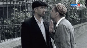 — Давид Гоцман, иди кидайся головой в навоз! Я вас не знаю. Мне неинтересно ходить с вами по одной Одессе. — Фима, ты говоришь обидно.
