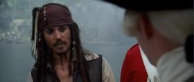 - Джек Воробей, не так ли? - Капитан Джек Воробей, мой друг! - А где же Ваш корабль, капитан? - Присматриваю его тут.